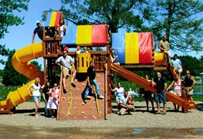 Girl Lake Resort - Family Vacations in Minnesota Playgroung